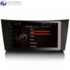 "Car multimedia 8"" Android 10.0 - 4core - 2GB RAM - 16GB ROM για Mercedes CLS, G, E"
