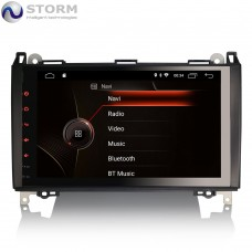 "STORM Car multimedia 9"" Android 10.0 - 4core - 2GB RAM - 16GB ROM για Mercedes A, B, Sprinter, Viano, Vito - VW Crafter"