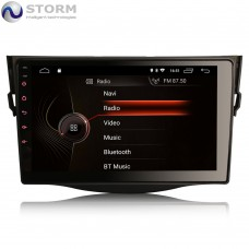 "Car multimedia 9"" Android 10.0 - 4core - 2GB RAM - 16GB ROM για Toyota RAV 4"
