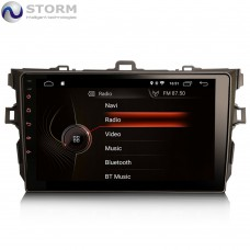 "Car multimedia 9"" Android 10.0 - 4core - 2GB RAM - 16GB ROM για Toyota Auris Corolla"