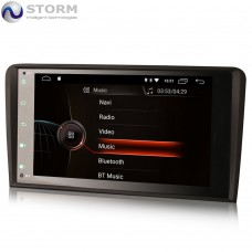 "Car multimedia 8"" Android 10.0 - 4core - 2GB RAM - 16GB ROM για Audi A4 - Seat Exeo"