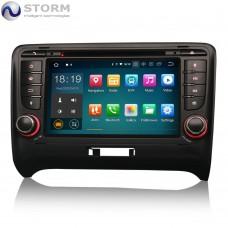 "STORM Car multimedia 7"" Android 10.0 - 4core - 2GB RAM - 16GB ROM για Audi TT MK2"