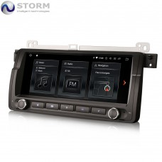 "Car multimedia 8.8"" Android 10.0 - 4core - 2GB RAM - 16GB ROM για BMW 3, M3 - Rover 75 - MG ZT"