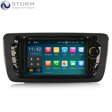 "Car multimedia 7"" Android 10.0 - 4core - 2GB RAM - 16GB ROM για Seat Ibiza"