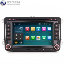 "Car multimedia 7"" Android 10.0 - 4core - 2GB RAM - 16GB ROM για VW - Seat - Skoda - models"