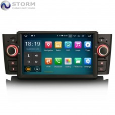 "Car multimedia 7"" Android 10.0 - 4core - 2GB RAM - 16GB ROM για Fiat Punto Linea"