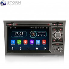 "Car multimedia 7"" Android 10.0 - 4core - 2GB RAM - 16GB ROM για Audi A4 - Seat Exeo"