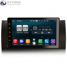 "Car multimedia 9"" Android 10.0 - 4core - 2GB RAM - 16GB ROM για BMW 5, X5, M5"