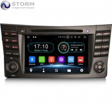 "Car multimedia 7"" Android 10.0 - 4core - 2GB RAM - 16GB ROM για Mercedes CLS, G, E"