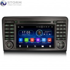 "Car multimedia 7"" Android 10.0 - 4core - 2GB RAM - 16GB ROM για Mercedes ML, GL"
