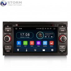 "Car multimedia 7"" Android 10.0 - 4core - 2GB RAM - 16GB ROM για Ford Mondeo, Focus, S-Max, C-Max, Galaxy, Connect, Fiesta, Fiuson, Kuga, Transit"