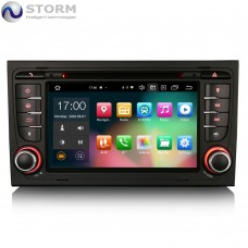 "Car multimedia 7"" Android 10.0 - 8core - 4GB RAM - 64GB ROM για Audi A4 - Seat Exeo"