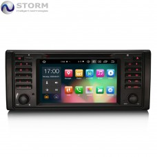 "Car multimedia 7"" Android 10.0 - 8core - 4GB RAM - 64GB ROM για BMW 5, X5, M5"