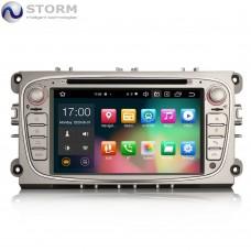 "Car multimedia 7"" Android 10.0 - 8core - 4GB RAM - 64GB ROM για Ford Mondeo, Focus, S-Max, C-Max, Galaxy"