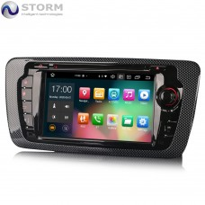 "Car multimedia 7"" Android 10.0 - 8core - 4GB RAM - 64GB ROM για Seat Ibiza"