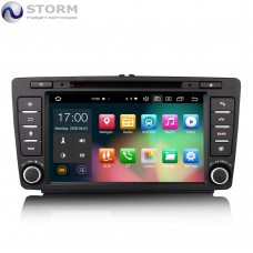 "Car multimedia 8"" Android 10.0 - 8core - 4GB RAM - 64GB ROM για Skoda Octavia, Yeti, Rapid, Roomster, Superb"