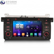 "Car multimedia 7"" Android 10.0 - 8core - 4GB RAM - 64GB ROM για BMW 3, M3 - Rover 75 - MG ZT"