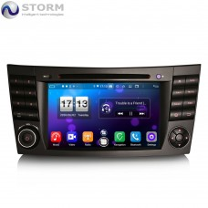 "Car multimedia 7"" Android 10.0 - 8core - 4GB RAM - 64GB ROM για Mercedes CLS, G, E"