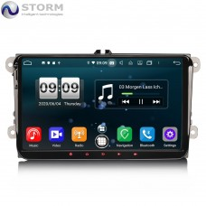 "Car multimedia 9"" Android 10.0 - 8core - 4GB RAM - 64GB ROM για VW - Seat - Skoda - models"