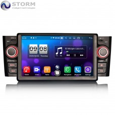 "Car multimedia 7"" Android 10.0 - 8core - 4GB RAM - 64GB ROM για Fiat Punto Linea"