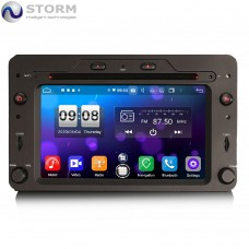 "Car multimedia 6.2"" Android 10.0 - 8core - 4GB RAM - 64GB ROM για Alfa Romeo Spider 156 & Sportwagon, Brera"