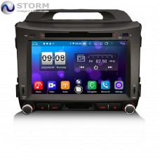 "Car multimedia 8"" Android 10.0 - 8core - 4GB RAM - 64GB ROM για Kia Sportage"