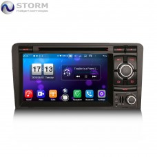 "STORM Car multimedia 7"" Android 10.0 - 8core - 4GB RAM - 64GB ROM για Audi A3"