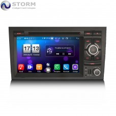 """Car multimedia 7"""" Android 10.0 - 8core - 4GB RAM - 64GB ROM για Audi A4, S4, RS4 - Seat Exeo"""