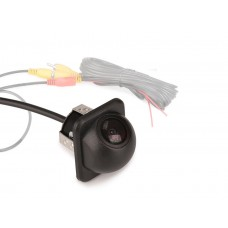 Small Straw Hat Mini 170 Viewing Color CCD Car Rear Reversing Camera Guide Line
